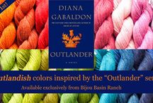 Outlandish / Introducing a spectrum of hand-dyed colors inspired by the Outlander series! Available exclusively at bijoubasinranch.com. / by Bijou Basin Ranch