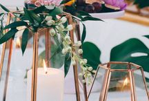 Weddings: Centrepieces