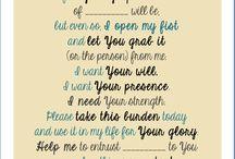 Faith and Prayer and Printables