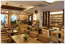 Book Cafe Interior / Book cafe interior designs.