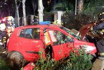 Una persona fallecida tras accidente en Avenida Kennedy / Dos compañías del Cuerpo de Bomberos de Santiago respondieron a una emergencia producida en la intersección de Avenida Kennedy y Navidad, en la comuna de Vitacura.