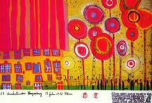 elementary art - Hundertwasser