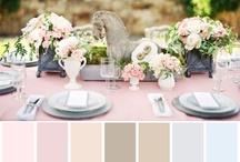 Pink & Beige Vintage Wedding