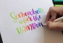 Crayoligraphy
