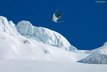snow, skiing, boarding...!