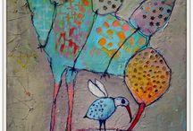 Ptaki rysunki