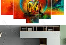 Buddha Canvas Artwork / Arttree offers customized Buddha canvas paintings and Buddha wall art prints for sale. USA and Australia-wide Delivery and International Shipping to UK, CAN, EUR etc. Best online art store www.arttree.com.au
