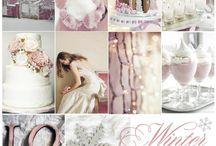 Wedding color boards