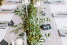 Garland, and table runners