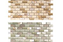 Shell Tile Backsplash / Gorgeous shell mosaic tile perfect for a backsplash, wall tile, floor tile, kitchen ideas, bathroom ideas, accent area. Best of all, we ship FREE everyday!