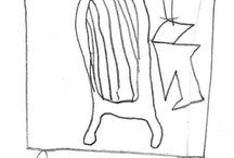 "Picasso Inspiration / Enjoy these guest and student drawings of the Currier Museum of Art's ""Woman Seated in a Chair"" by Pablo Picasso: http://collections.currier.org/Obj50?sid=14215&x=326607 / by Currier Museum"