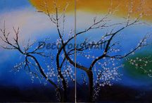 DecorousWalls / Paintings and craft decors for elegant interiors