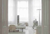 White interiors / White and wooden interiors inspiration pictures.