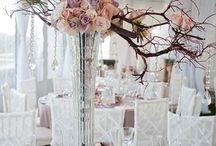 свадебноый стол / свадебный стол #оформление # декор