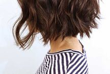 Short Hairstyle / ideas for long bob and short hair ( colours and hairstyle)