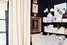 Dramatic rooms / by Kelly Dubyne {Distinctive Interior Designs}