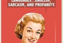 Sarcasmo & co