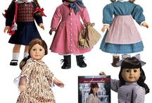american girl dolls / by Marykate Reilly