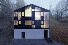 House Architecture / Interior Design Austria / Renovated house on a hill above Dornbirn, Austria