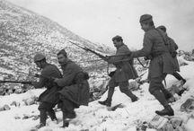 Greek soldiers in WW2