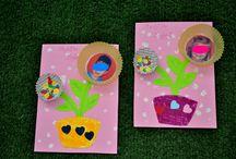 Γιορτή της μητέρας / φτιάχνουμε δωράκια για την μανούλα μας!!