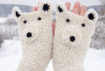 Fingerless gloves / fingerless gloves
