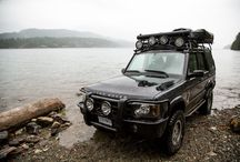 Discovery 2 off road land rovers
