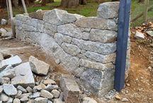 Muri in sassi