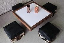 My Witco Zebra Cocktail Table / by Patrick Scott