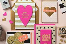Cards & Crafting: Valentine! / Valentinstag
