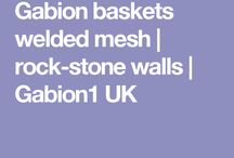 Gabion baskets welded mesh