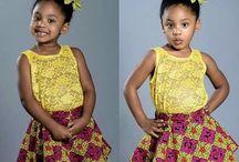 Kiddies African Print