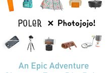 PJ x Poler / We've teamed up with Poler for the ultimate roundup of summer fun/camping/roadtrip essentials. It's never too late to start your summer adventures!