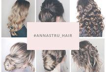 Анна Стругацкая - визажист/стилист по волосам / Здесь представлены мои работы: прически и макияж/ make up / hairstyl