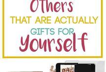 handmade gift ideas - sum are just ideas