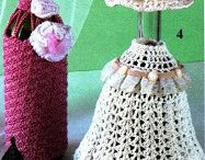 crochet para botellas
