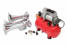 Train/Truck Air Horn Kits / Sweet loud train air horn kits and parts. From motorcycle to an extra large rig you will find the right air horn for your ride! / by X2 Industries