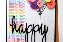 verjaardagen! !