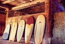 Old School Wooden Surfboards