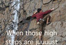 •climbing•