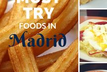 Madrid ❤️ Food / Must eat foods in Madrid