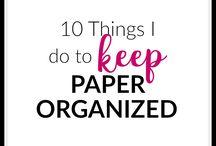 Organize Your Home / Everything 'ORGANIZE'! Organize your pantry, organize your shoe shelf, organize your garage... organize it ALL!