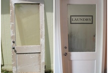 new laundry room / by Sarah Ware