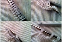 Knitting stitch