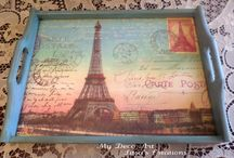 My Deco Art - Litsa's Decoupage Creations / Home deco with Decoupage