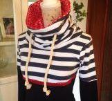 Magasított nyakú divatos női felső