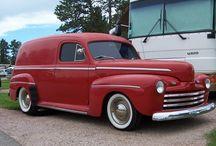 Haulers / Deliveries, panel vans, pickup trucks… I love 'em.