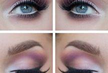 maquillajes de ojos lila