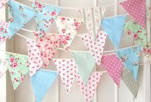 Bunting, Penants & Garlands.