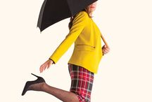 Raining Day Style / For every woman, a perfect pair of tights. Discover yours with Rachel's Box.  www.rachelsbox.com  #rachelsbox #lecoffretderachel